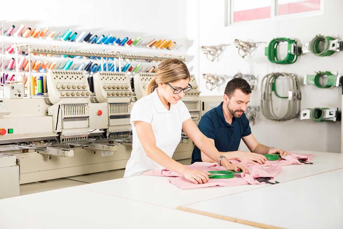 ArtModa цех машинной вышивки